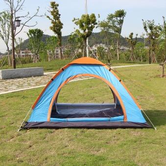 이지캠핑 자동 원터치 텐트 3~4인용 (업체별도 무료배송)