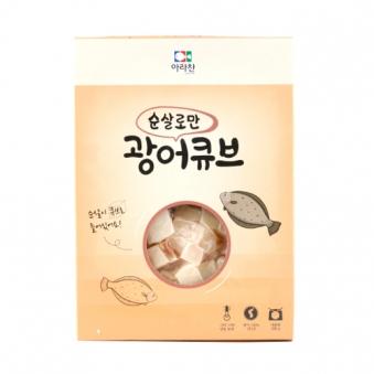 아라찬 광어큐브 200g x 4개 (업체별도 무료배송)
