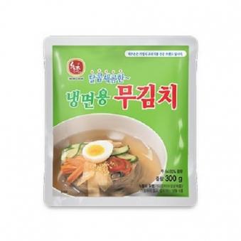 [다다익선] [교동식품] 하우촌 냉면용 무김치 300g x 10개 (업체별도 무료배송)