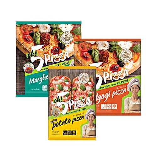 [오피자] 마르게리타 피자+불고기 피자+불고기 미니포테이토피자 (각 1봉씩) (업체별도 무료배송)