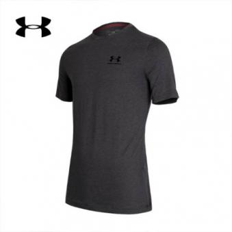 [언더아머] 남성 차지드 코튼 티셔츠 1257616-090 (업체별도 무료배송)