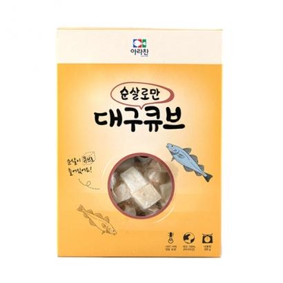 아라찬 대구큐브 200g x 4개 (업체별도 무료배송)