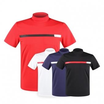 럭스골프 MB 아이스 반팔 투어핏 반목 셔츠 MS9M412 (업체별도 무료배송)