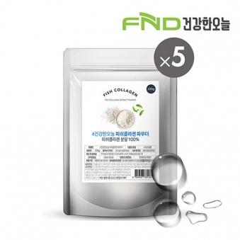 FND건강한오늘 피쉬콜라겐 분말 1kg(200g x 5팩) (업체별도 무료배송)