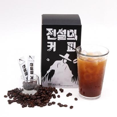 [재입고] 전설의 커피 100T x 2개 (총 200t) (업체별도 무료배송)