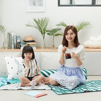 [1+1] 여름타파 한일메디컬 싱글세트 (싱글매트+베개) (업체별도 무료배송)