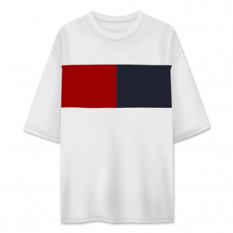 가로배색 롱5부 티셔츠 (업체별도 무료배송)