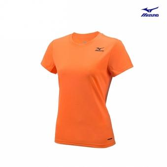 [미즈노] 여성 베이직 반팔 티셔츠 MZ-32YA676077-00 (업체별도 무료배송)