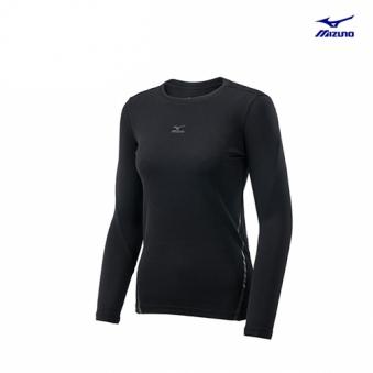 [추가인하] [미즈노] 여성 베이직 긴팔 티셔츠 MZ-32YA676109-00 (업체별도 무료배송)