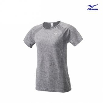 [추가인하] [미즈노] S사이즈 여성 심리스 반팔 티셔츠 MZ-32YA673010-00 (업체별도 무료배송)