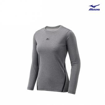 [미즈노] 여성 베이직 긴팔 티셔츠 MZ-32YA676111-00 (업체별도 무료배송)