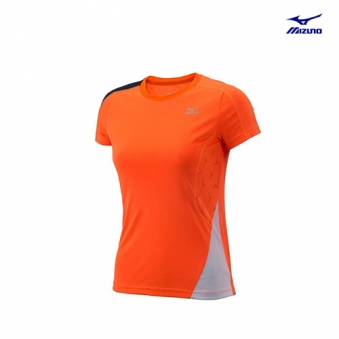 [추가인하] [미즈노] 여성 인도어 그래픽 반팔 티셔츠 MZ-32YA677177-00 (업체별도 무료배송)