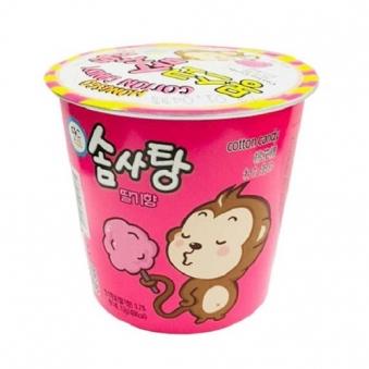 [다다익선] 몽스코 솜사탕 딸기향 12g x 20개 (업체별도무료배송)