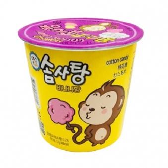 [다다익선] 몽스코 솜사탕 바나나향 12g x 20개 (업체별도무료배송)
