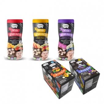 나쉬 유기농 곡물 퍼프 딸기/바나나/블루베리 60g + 릴퍼프 70g (옵션구성) (업체별도 무료배송)