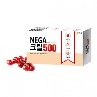 [NEGA] 크릴오일 500mg*30캡슐x2박스(크릴오일100%) (업체별도 무료배송)