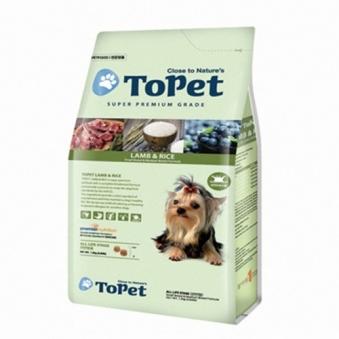 투펫 전연령 양고기&쌀 1.2kg (업체별도 무료배송)