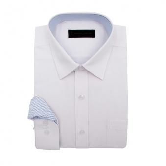 [로베르따] 빅사이즈 일반핏 화이트 무지 긴소매 셔츠 RR0304_1(화이트) (업체별도 무료배송)