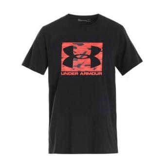 [언더아머] 남성 UA 블록 스포츠ST 블랙 반팔티셔츠 1305660-002 (업체별도 무료배송)