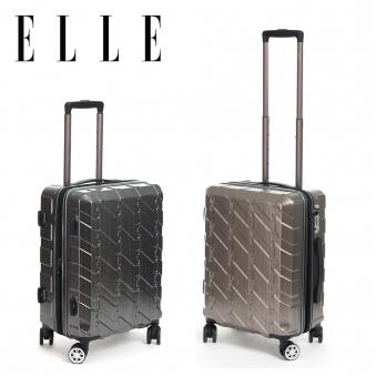 [ELLE] 엘르 싱잉 캐리어 19인치 메탈그레이/메탈모카 택1 EF33919 (업체별도 무료배송)