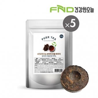 FND건강한오늘 보이차 추출분말 1kg (200g x 5팩) (업체별도 무료배송)