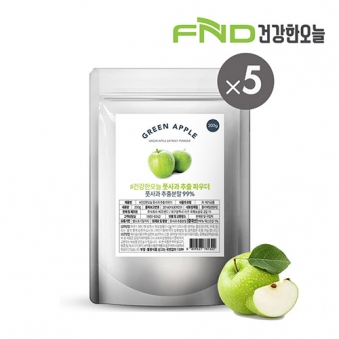 FND건강한오늘 풋사과 추출분말 1kg (200g x 5팩) (업체별도 무료배송)