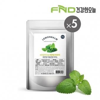 FND건강한오늘 레몬밤 추출분말 1kg (200g x 5팩) (업체별도 무료배송)