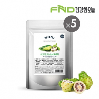 FND건강한오늘 노니 추출분말 1kg (200g x 5팩) (업체별도 무료배송)
