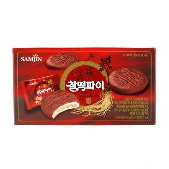 홍삼 찰떡파이 155g(31g*5입) x 24개 (업체별도 무료배송)