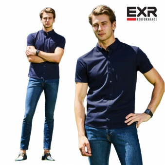 [EXR] 데일리셔츠(네이비) (업체별도 무료배송)