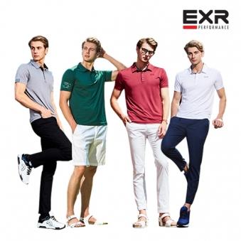[EXR] [블랙추가] 남성 싱글 카라 반팔티셔츠 5종 택1 (업체별도 무료배송)