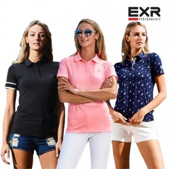 [EXR] [3컬러추가]여성 싱글 카라 반팔티셔츠 5종 택1 (업체별도 무료배송)