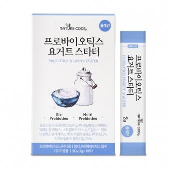 네이처코드 프로바이오틱스요거트 스타터 2g*10포 (업체별도 무료배송)