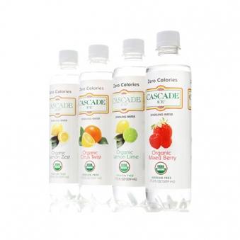 캐스케이드 유기농 스파클링 음료 509ml x 12병 (옵션선택) (업체별도 무료배송)