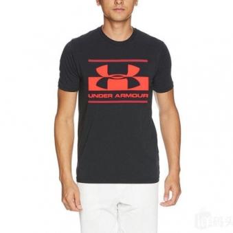 [언더아머] 남성 블록 스포츠스타일 티셔츠 로고 1305667-002 (업체별도 무료배송)