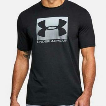 [언더아머] 남성 블록 스포츠스타일 티셔츠 블랙 1305660-001 (업체별도 무료배송)