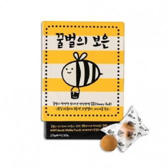 [1+1] 마누카꿀로 만든 영양환, 꿀벌의보은 3.75g*14환 (업체별도 무료배송)