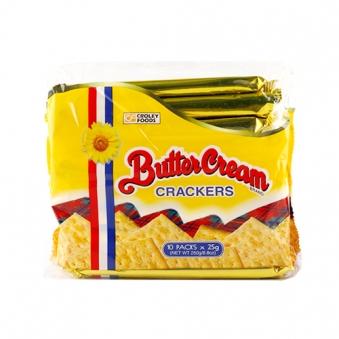 크롤리 버터크림향 크래커 250g (25g*10개입)