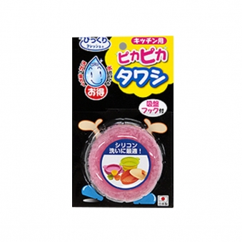 SANKO 흡착판 수세미(핑크/그린) (업체별도 무료배송)