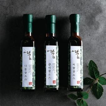 [다다익선] [세종숨] 향미장 소스 3종세트 (업체별도 무료배송)
