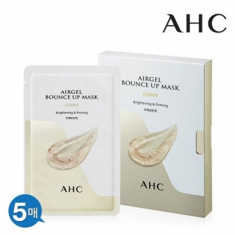 AHC 플라워 에어겔 바운스업 마스크 30g 5매