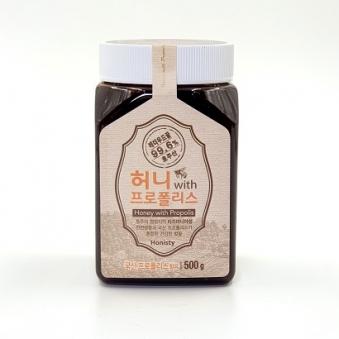 허니 with 프로폴리스 500g (업체별도 무료배송)