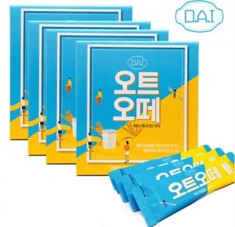 볶은 귀리우유 DAI 오트오떼 다이어트 식단 식사대용 30g X 28개입 (업체별도 무료배송)