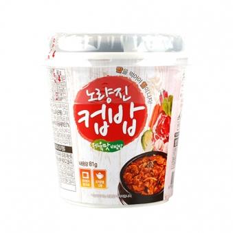 노량진 컵밥 제육맛비빔밥 81g