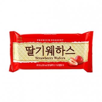서주 딸기웨하스 50g