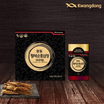 [광동] 황제순홍삼정 프리미엄 240g x 2개 (업체별도 무료배송)