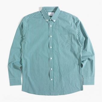 [only 1%] 오버핏 핀 스트라이프 셔츠 (업체별도 무료배송)