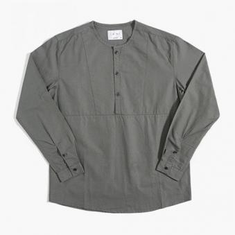 [only 1%] 절개 헨리넥 차이나 셔츠 (업체별도 무료배송)