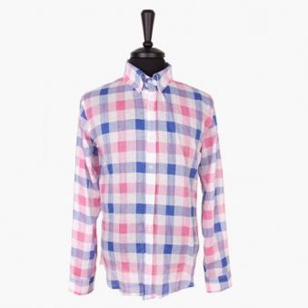 [only 1%] 파스텔 체크 린넨 셔츠 (업체별도 무료배송)