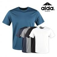 럭스골프 AI 스판 라운드 티셔츠 RM9M413 (업체별도 무료배송)